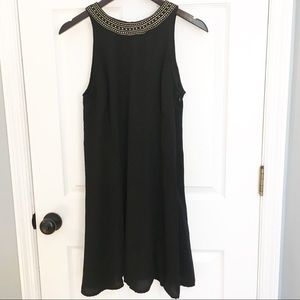 Old Navy Little Black Swing Dress - Small